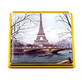Souvenirs of France - 'Eiffel Tower' Double Handbag Mirror