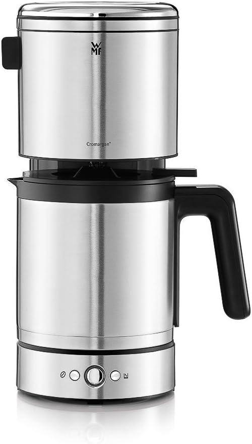 WMF Lono Cafetera de filtro termo, 900 W, 10 Cups, Acero ...