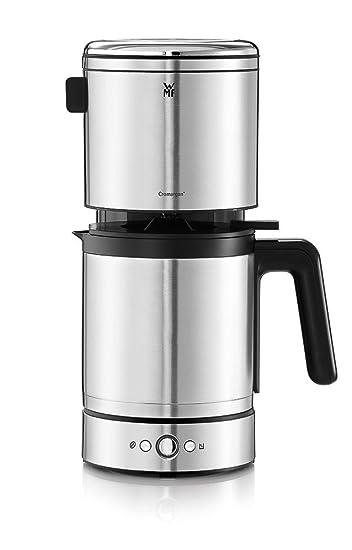 WMF LONO Kaffeemaschine Filterkaffeemaschine Thermoskanne 10 Tassen  Tropfstopp Schwenkfilter Abnehmbarer Wassertank Abschaltautomatik 900 W