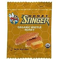 Galleta orgánica de Honey Stinger, miel, nutrición deportiva, 1.06 onzas (16 unidades)