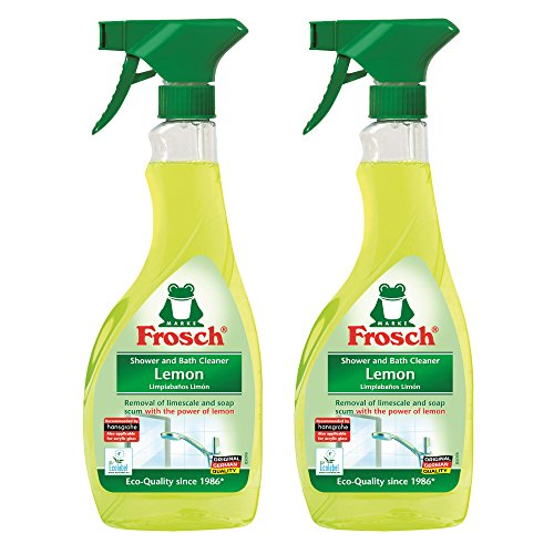 frosch-natural-lemon-shower-bathroom-cleaner-spray-bottle-500ml-pack-of-2