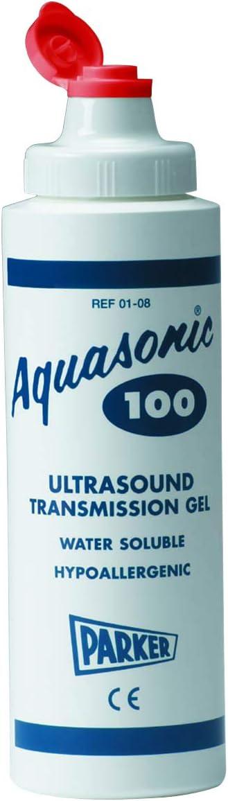 Aquasonic Aquasonic 100 Ultrasonic Gel, 250ml (8.5 Ounce) Dispenser - Each, 8.45 Fl Ounce