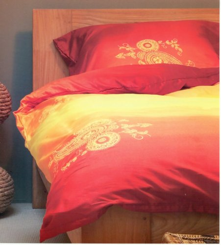 bettw sche rot orange gelb my blog. Black Bedroom Furniture Sets. Home Design Ideas