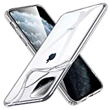 ESR Essential Zero for iPhone 11 Pro Case, Slim Clear Soft TPU, Flexible Silicone Cover for iPhone 11 Pro 5.8-Inch (2019), Clear