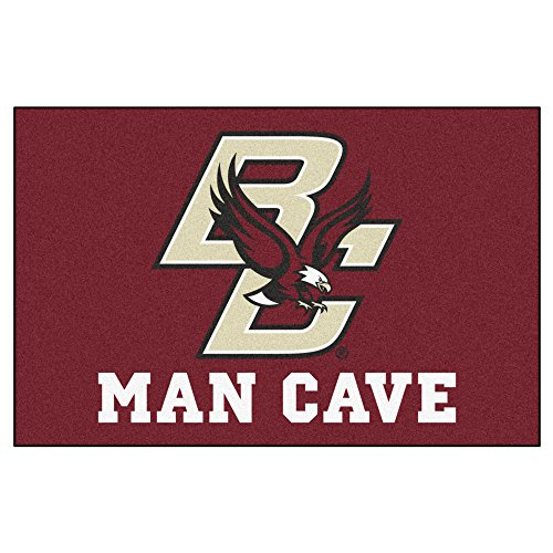 "FANMATS 17245 Team Color 19""x30"" Boston College Man Cave Starter Rug"