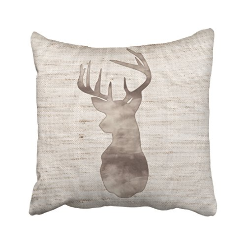 Shorping Zippered Pillow Covers Pillowcases 16X16 Inch rustic
