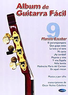 Album de Guitarra Fácil N.09 - Manolo Escobar: Amazon.es: Aa.Vv ...