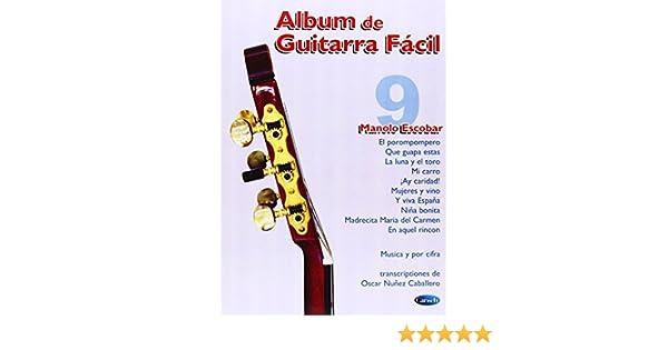Album de Guitarra Fácil N.09 - Manolo Escobar: Amazon.es: Aa.Vv ...