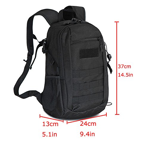 51bd8517736d X-Freedom 10L Military Backpack Mini Daypack Tactical Assault Pack MOLLE  Backpack Rucksack Summer Winter Small Backpack Student School Bag for  Hiking ...
