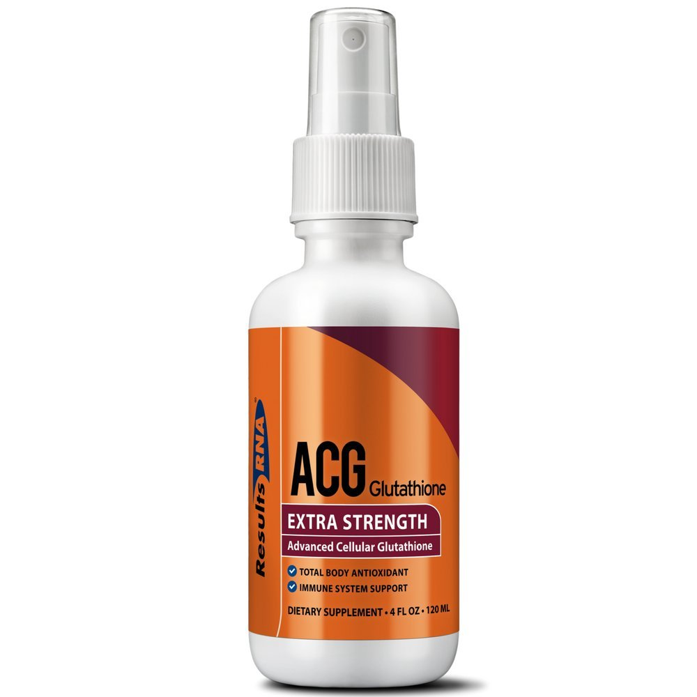 Results RNA ACG Glutathione Extra Strength 4 | Ultimate Source Of Antioxidant - Minimize Stress, Optimizing Health and Athletic Performance - 4 Ounce KWT