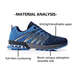 Axcone Homme Femme Air Running Baskets Chaussures Outdoor Running Gym Fitness Sport Sneakers Style Multicolore… 10