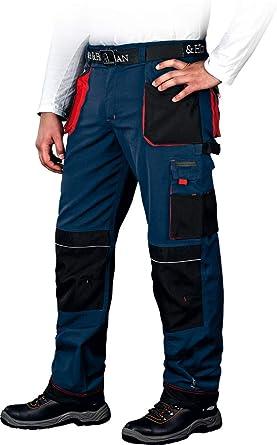 Arbeitshose Leber Hollman Pantalones De Trabajo Pantalon De Seguridad De Hombre Con Bolsillos Para Rodilleras Pantalones Elasticos Multibolsillos Stretch Negro Amazon Es Ropa Y Accesorios