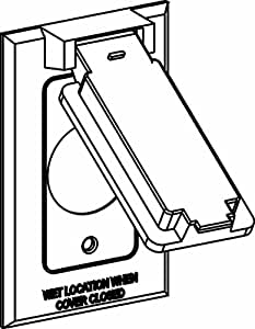 two gang outlet wiring diagram with 2 Gang Weatherproof Electrical Box on Wiring Diagram Wind Generator additionally Wiring Three Switches In One Box further 2 Gang Weatherproof Electrical Box moreover Electrical Box Cover Plates further Two Gang Switch Wiring Diagram.