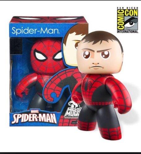 Hasbro Spider Man SDCC 2011 San Diego ComicCon Exclusive Mighty Muggs Figure Spider Man