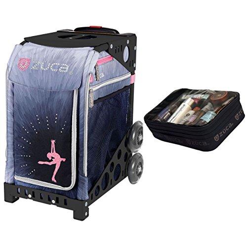 Zuca Ice Dreamz Lux Sport Insert Bag & Black Frame + Gift Utility Pouch by ZUCA
