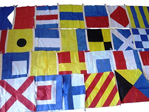 Cheap Brass Blessing Marine Product – Nautical Sailboat Boating Signal Code Flag – 100% Cotton – 26 Flag – 15″ X 15″