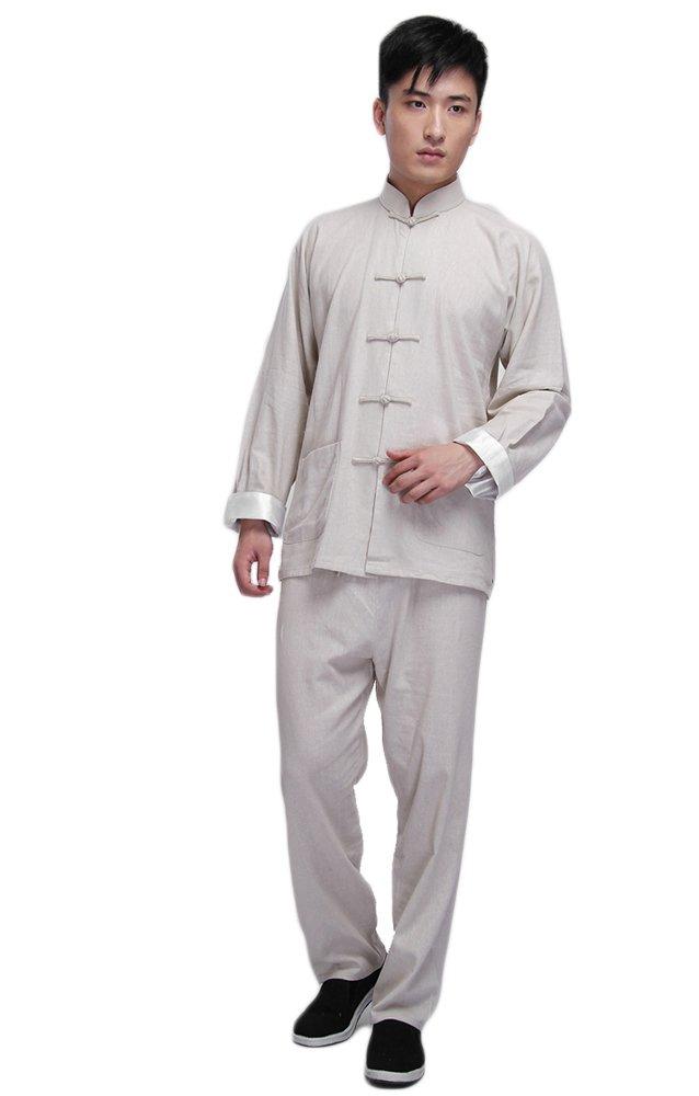 zooboo Vintage Chino traje de Kung Fu chaqueta de artes marciales