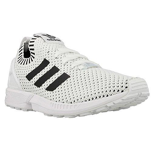 adidas Originals Men's Shoes | Zx Flux Sneakers, White Black, ((9 M US)