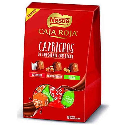 Rosa roja natural fresca + bombones nestle caja roja 100 gr + tarjeta personalizada de regalo: Amazon.es: Jardín