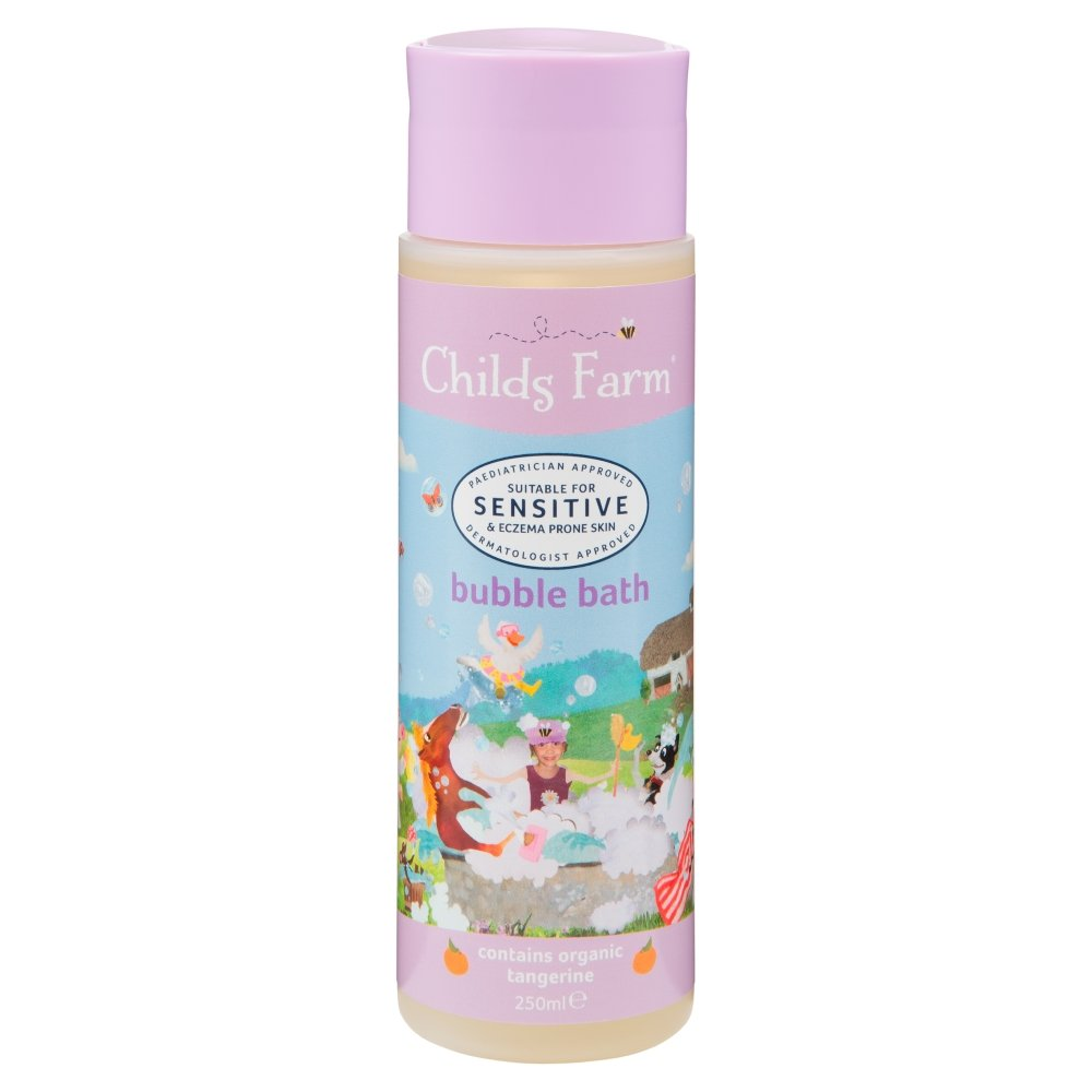 Childs Farm Bubble Bath Organic Tangerine 250ml Medichem CF115