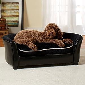 Perfect Enchanted Home Pet Ultra Plush Panache Sofa Dog Bed