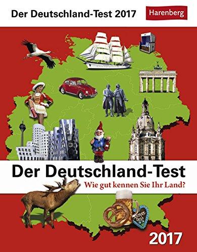 Der Deutschland-Test - Kalender 2017 - Harenberg-Verlag - Tagesabreißkalender - 12,5 cm x 16 cm