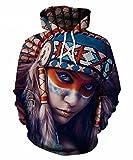 9Yourtime Women Sweatshirt BTS Literature Hoodie Pullovers American Indian Girl Clothing Hooded Hoody