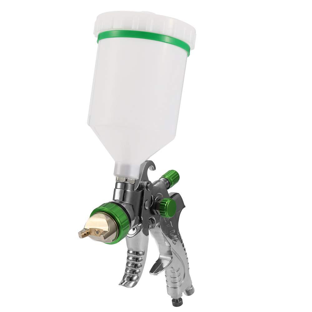 HVLP Air Spray Machine Gravitationskraft Farbspritzpistole Air Brush Set Edelstahl 1.4mm 1.7mm 2.0mm D/üse Auto Auto Detail Malerei f/ür Spot Repair Face Paint Kecheer Airbrush Kit