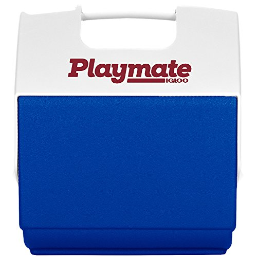 Igloo Playmate Pal 7 Quart Personal Sized Cooler (Ocean Blue/White, 11.75 x 8.25 x ()