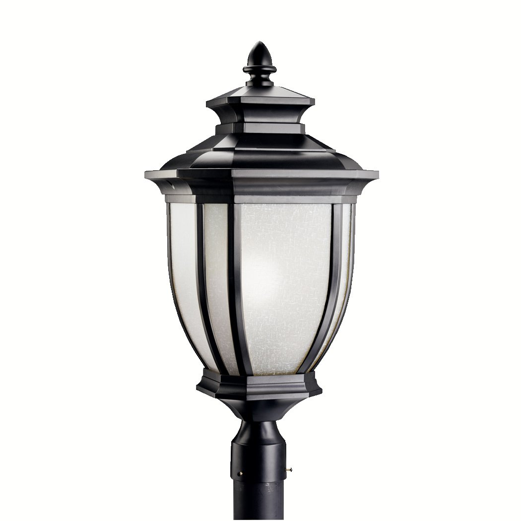 Light Outdoor Amazon kichler 9938bk one light outdoor post mount garden amazon kichler 9938bk one light outdoor post mount garden outdoor workwithnaturefo