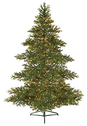 (Bethlehem Lighting GKI Pre-Lit Layered Balsam Artificial Christmas Tree with Clear Lights, 7.5')