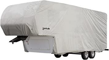 with 3-Ply Roof for Max Weather Protection Fits 29-33 XGear Outdoors 5th Wheel RV Cover Grey