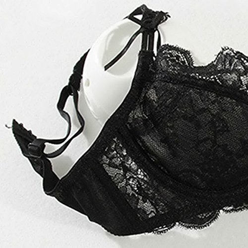 7b7357ce10 Aivtalk Women s Sexy Lace Underwire Bra and Panty Set Comfort Embroidery  Lingerie Set