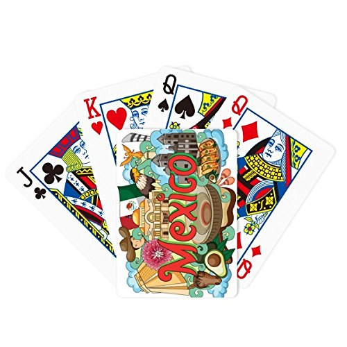Teotihuacan Sintagma Mexico Graffiti Poker Playing Card Tabletop Board Game Gift by beatChong