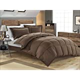 BLUE HORSE (LABEL) Soft Micro Polyester 300 GSM Double Bed Comforter for Winter (90x100 Inches, Brown)