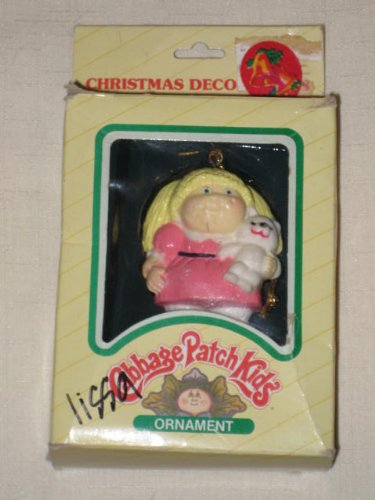 1983 Cabbage Patch Kids Christmas Tree Ornament - Blonde Girl
