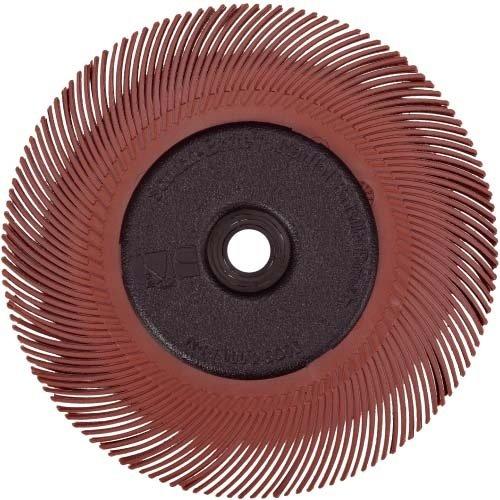 3M BB-ZB radiale Schleifbü rste Bristle,Typ C,Korn 220, Durchm. 150 mm Farbe rot