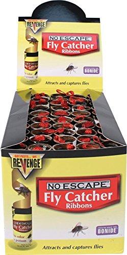 (BONIDE Products-ROXIDE 917501 Revenge No Escape Fly Catcher Ribbons (100 Per Box))