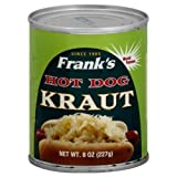 Franks Kraut Hot Dog 8 oz. - Pack of 12