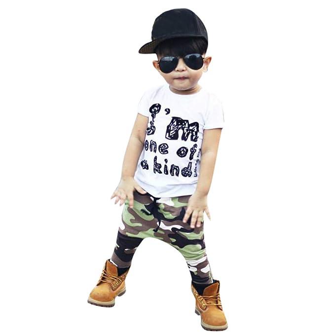 Amazon.com: Buoyee - Conjunto de ropa para niños y bebés ...