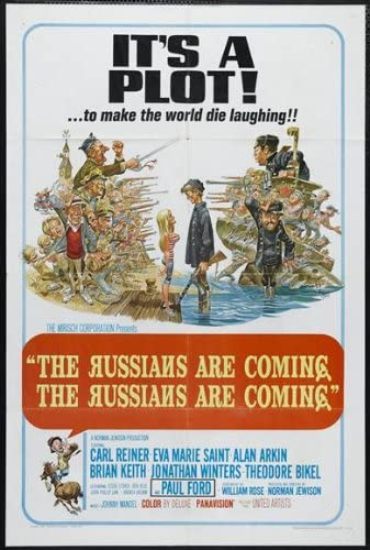 Amazon.com: The Russians Are Coming Russians Are Coming 11x17 Movie Poster ( 1966): Prints: Posters & Prints