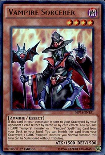 Yu Gi Oh Vampire Sorcerer MP14 EN151 Ultra product image