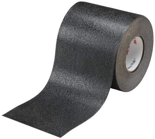 (3M Safety-Walk Slip-Resistant Conformable Tapes and Treads 510, Black, 6