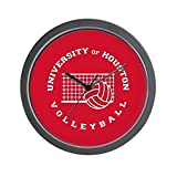 Best Fans With Pride Alarm Clocks - CafePress - University of Houston Volleyball - Unique Review