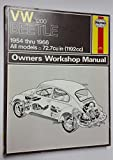 Volkswagen (VW) 1200 Beetle 1954-1966 Automotive Repair Manual (All models 72.7 cu. in. (1192)cc