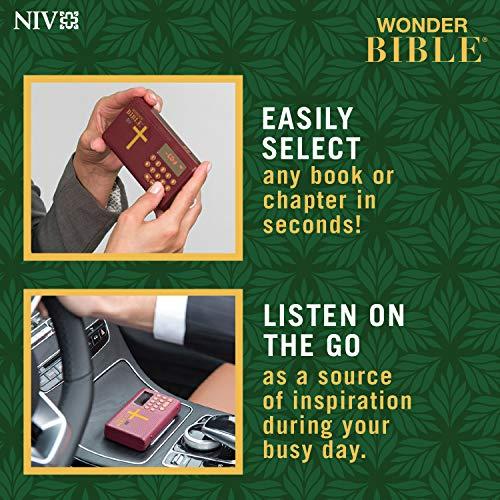 WONDER BIBLE NIV- The Audio Bible Player That Speaks, New International Version, as Seen On TV by WONDER BIBLE (Image #4)