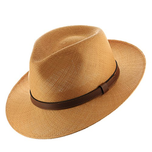 Genuine Panama Fedora Hat - 7