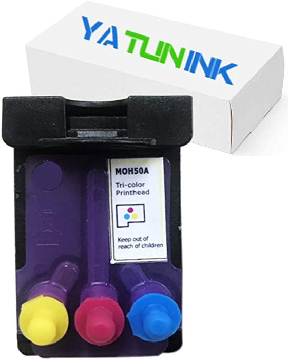YATUNINK Remanufactured Printhead Replacement for HP M0H50A Print Head Cartridge for HP 5810 5820 GT5810 GT5820 Printhead (1 Tri-Color)