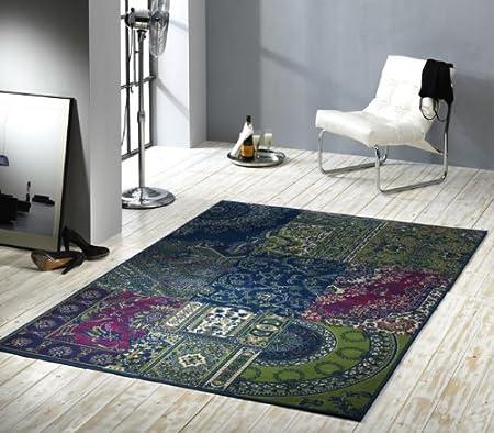 Designer Rug Modern Living Room Rug Wohnteppich Wohnzimmerteppich Runner /  Carpet / Rug Prime Pile Patchwork