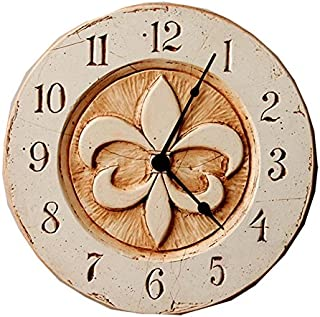product image for Piazza Pisano Fleur di lis French Wall Clock